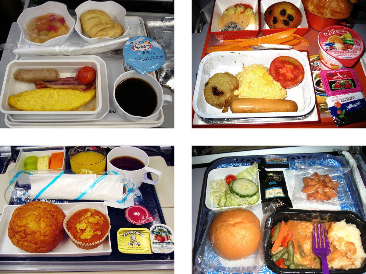 Joachim Schmid. Airline Meals from the series Other People's Photographs (2008-2011). Hardcover book with dust jacket Print on demand, colour Open edition, numbered and signed. Courtesy of the artist  © Joachim Schmid
